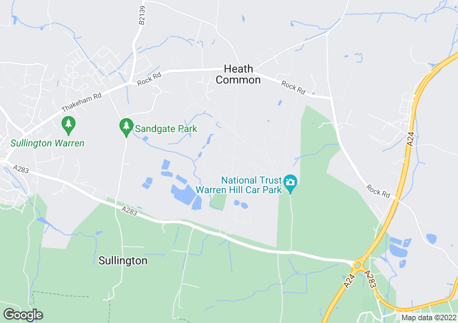 Map for Hampers Lane, Storrington, RH20