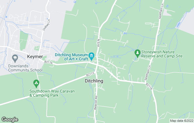 Map for Clifford Dann, Hurstpierpoint & Ditchling