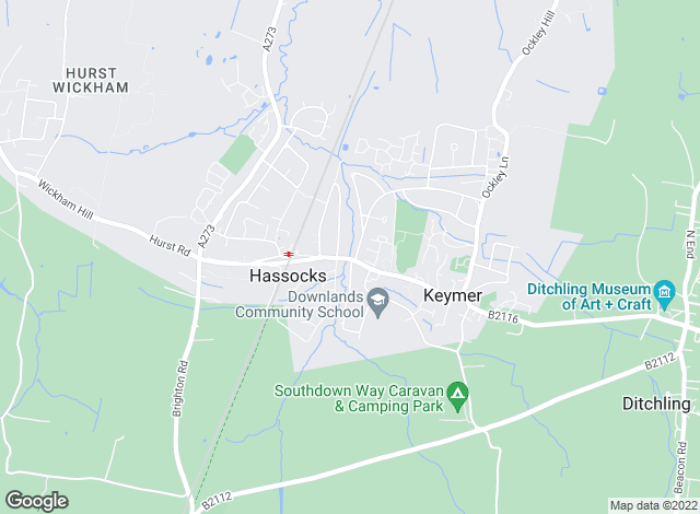 Map for Mansell McTaggart, Hassocks