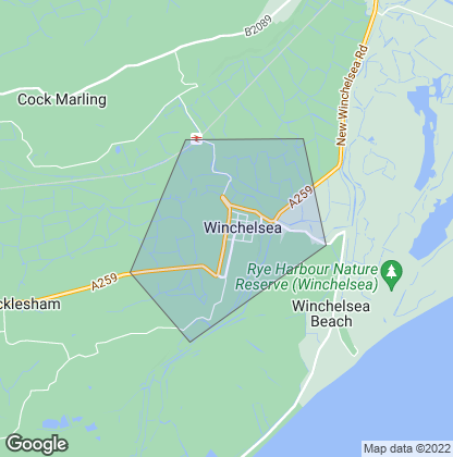 Map of property in Winchelsea