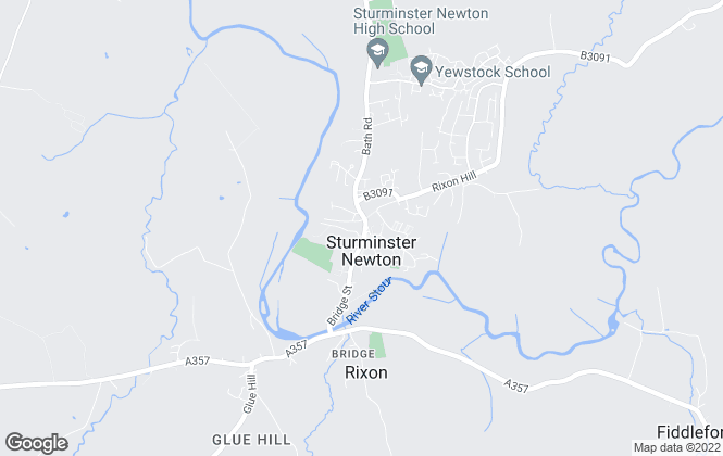 Map for Roy Barretts, Sturminster Newton