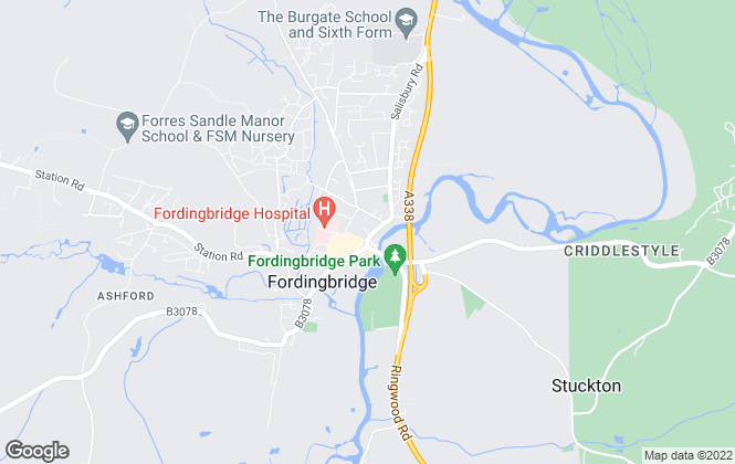 Map for Lets Accommodate, Fordingbridge