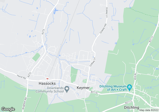 Map for MAIDSTONE at Clayton Mills -Hassocks, Mackie Avenue,
