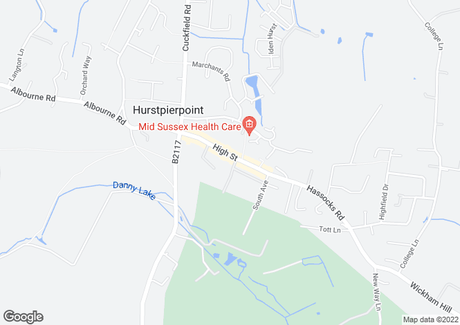 Map for High Street, Hurstpierpoint, BN6 9PY