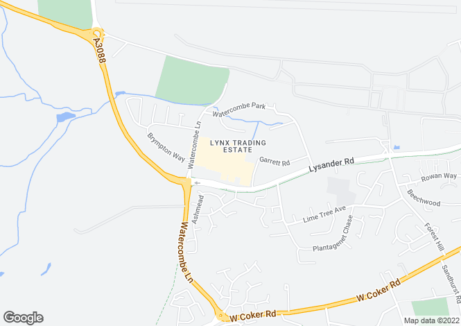 Map for UNIT 11 BARTLETT COURT,