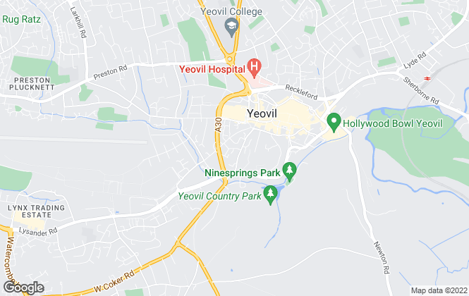 Map for RMW Knight, Yeovil
