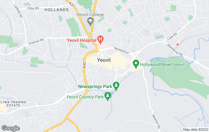Map for Edmonds Commercial, Yeovil