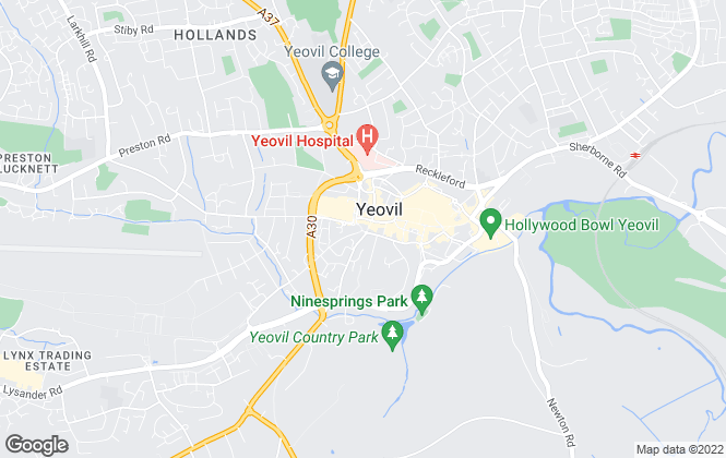Map for Laceys Yeovil Ltd, Yeovil