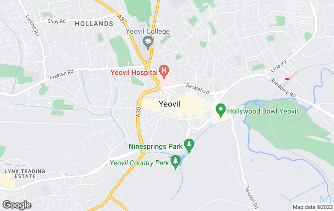 Map for Fox & Sons, Yeovil