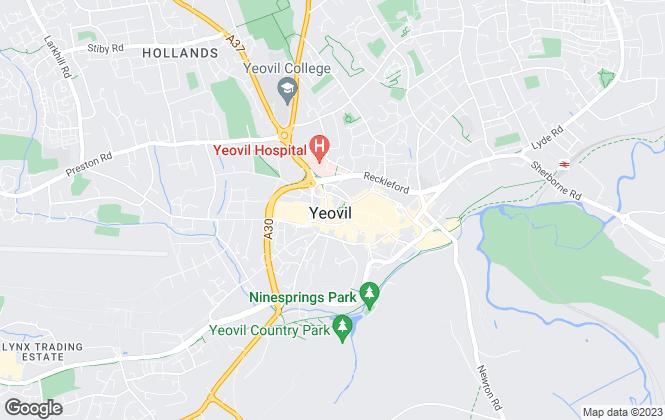 Map for EweMove, Yeovil