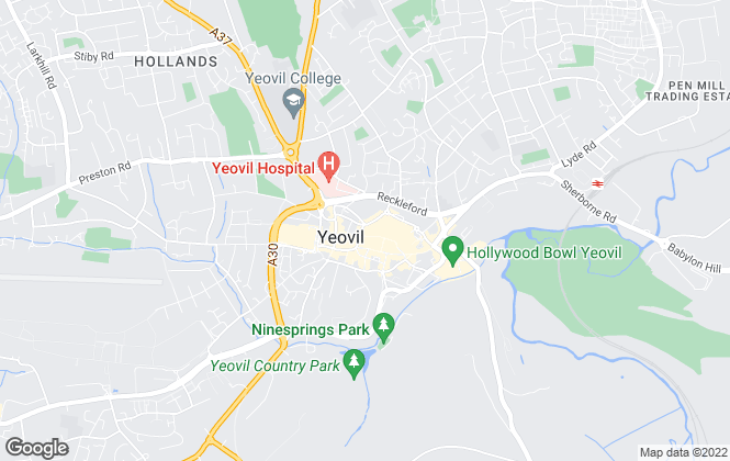 Map for Edwards, Yeovil