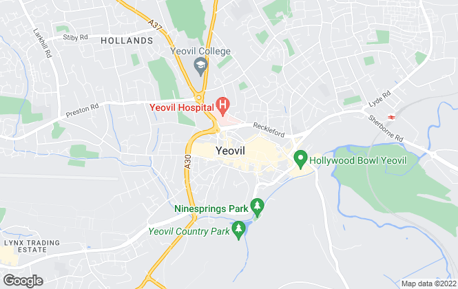 Map for Greenslade Taylor Hunt, Yeovil Lettings