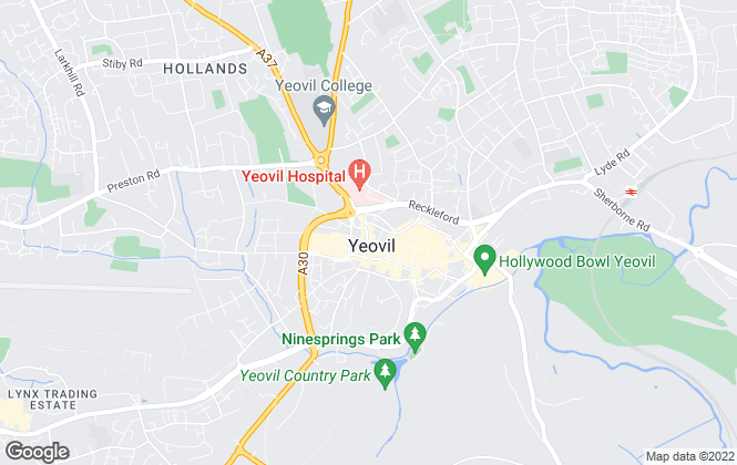 Map for Ashfield Property Management, Yeovil