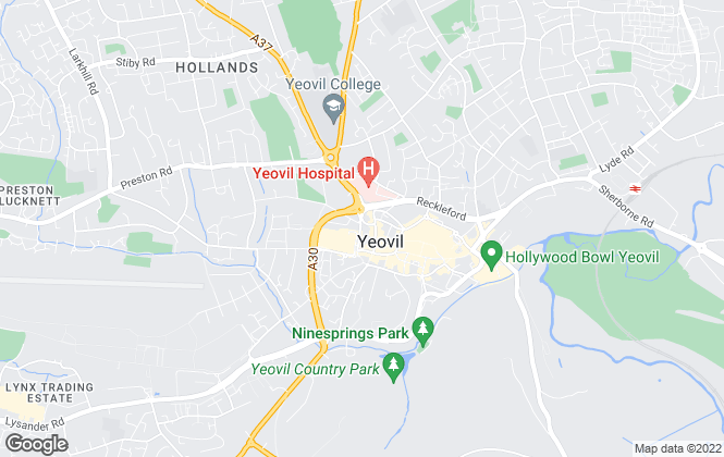 Map for YeoLets, Yeovil