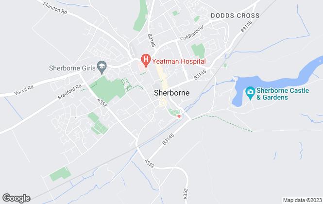 Map for Stockwood Lettings, Sherborne