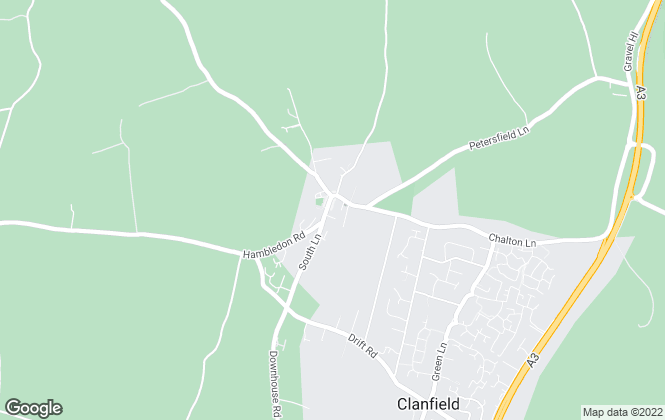 Map for Gibson Gammon, Clanfield