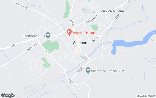 Map for Jackson-Stops & Staff, Sherborne