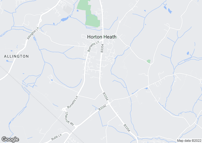Map for Botley Road, Horton Heath, Eastleigh