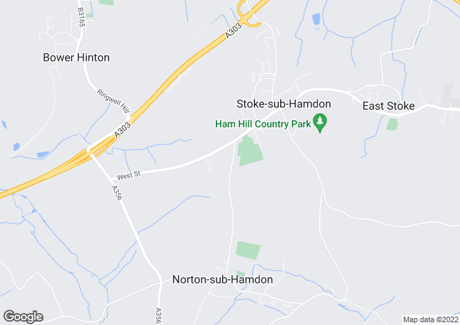 Map for Norton Road, Stoke-Sub-Hamdon, Somerset