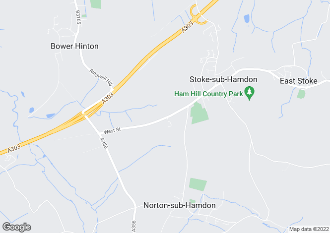 Map for West Street, STOKE SUB HAMDON