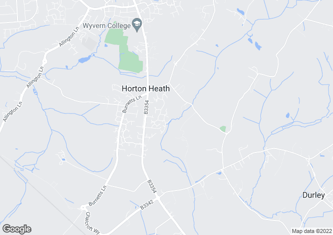 Map for Ripon Court, Horton Heath, Eastleigh