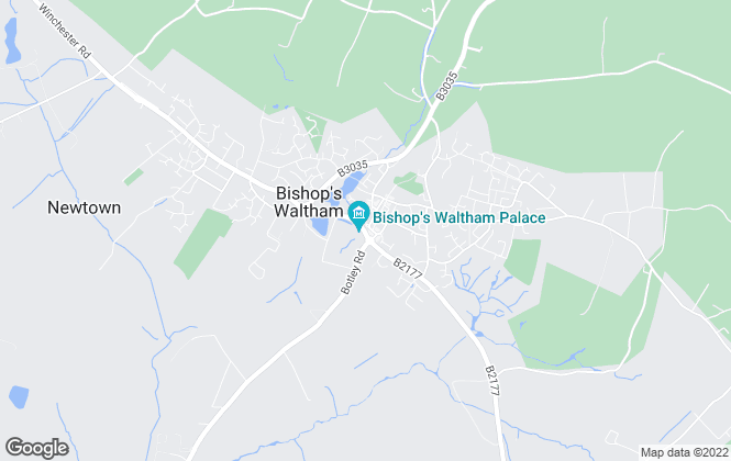 Map for Austin & Wyatt, Bishops Waltham