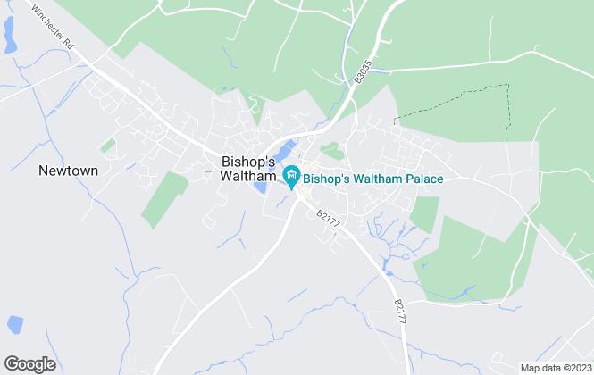Map for Austin & Wyatt, Bishops Waltham