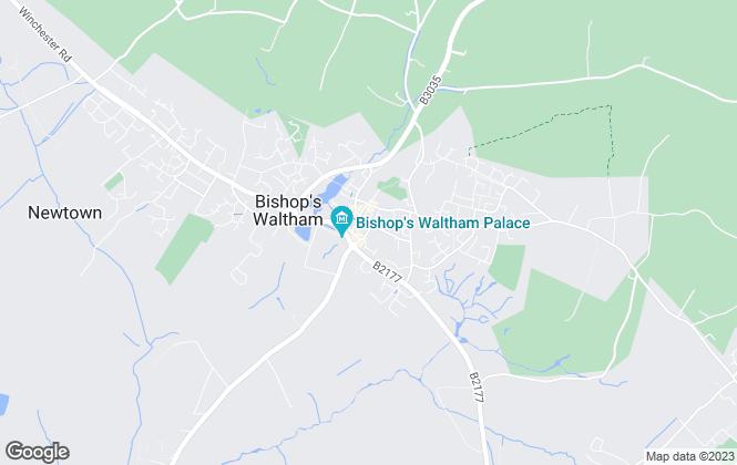Map for Giles Wheeler-Bennett, Southampton