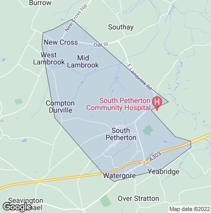 Map of property in South Petherton