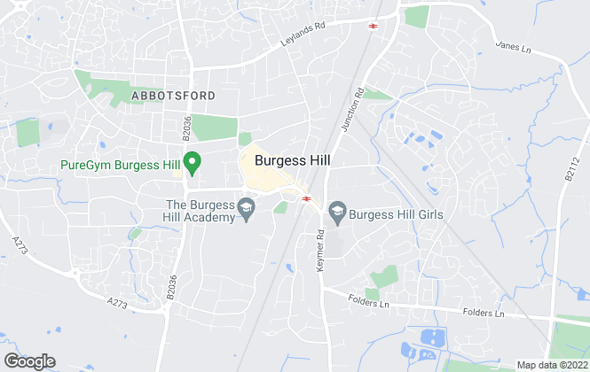 Map for Mansell McTaggart, Burgess Hill