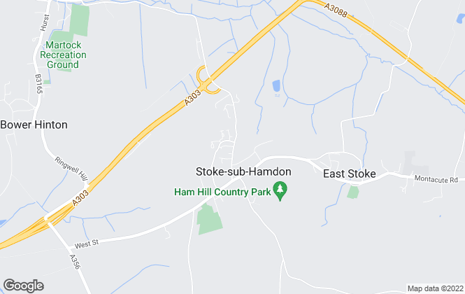 Map for Orchards Estates 24/7 , Stoke-Sub-Hamdon