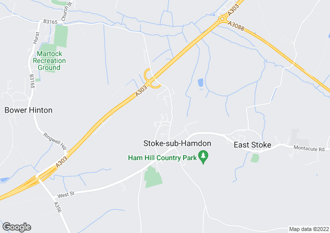 Map for Tiptoft, Stoke-Sub-Hamdon, Somerset