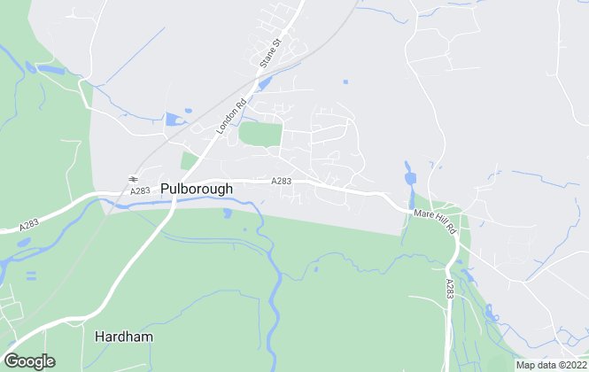Map for Cubitt & West, Pulborough