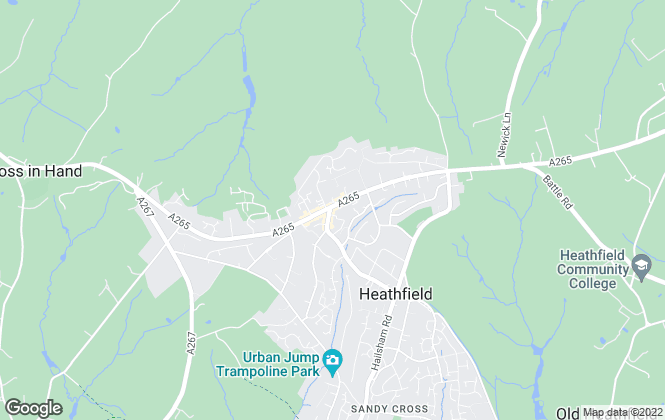 Map for Wood & Pilcher, Heathfield