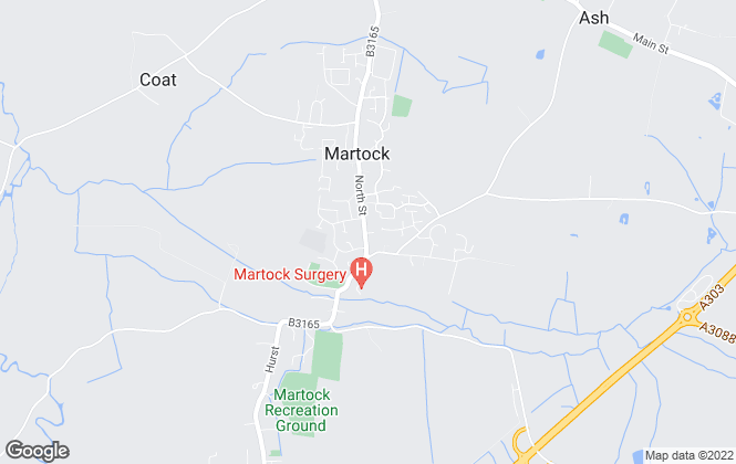Map for Palmer Snell, Martock