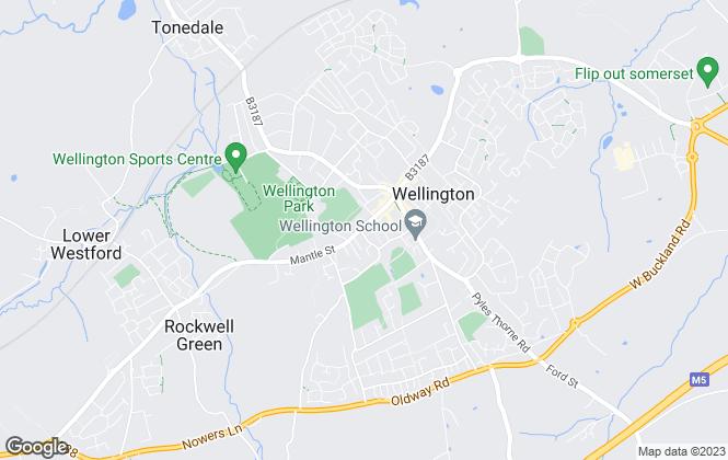 Map for Beacon Lee & Ward, Wellington