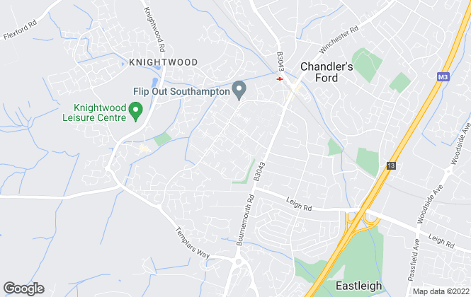 Map for Olympus Lettings , Hampshire