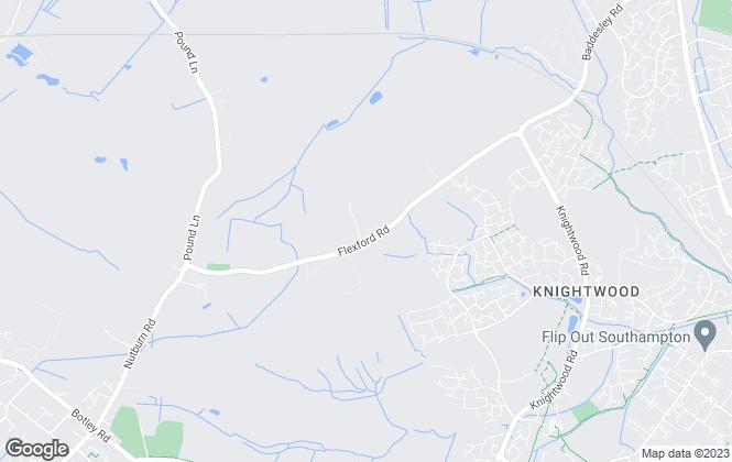 Map for Frank Hybrid Lettings, Southampton