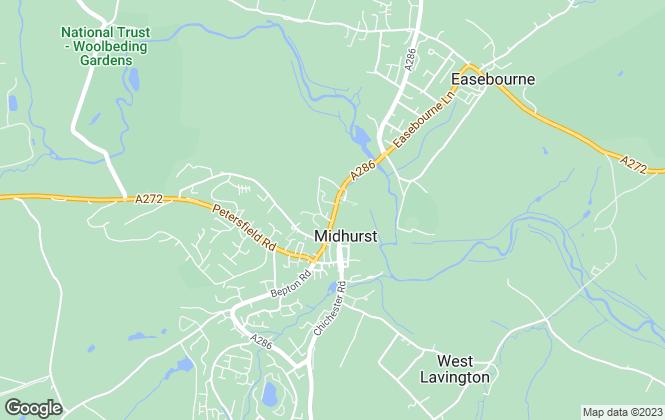Map for Gascoigne-Pees, Midhurst