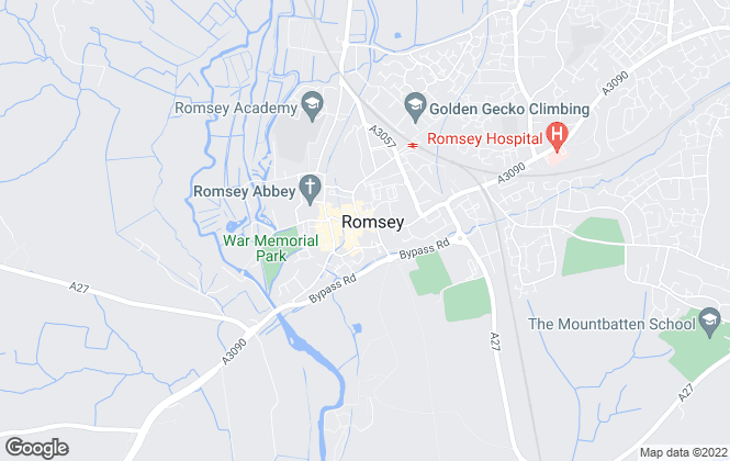 Map for Charters Estate Agents Ltd, Romsey