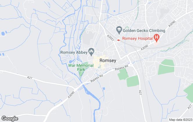 Map for Woolley & Wallis, Romsey - Lettings