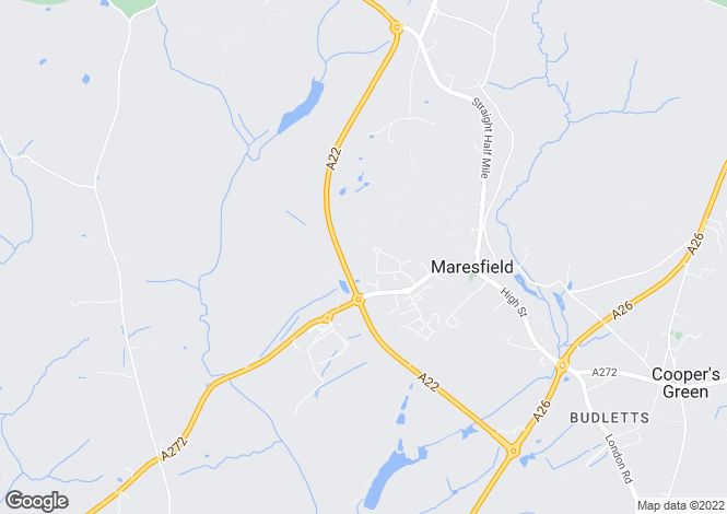 Map for Maresfield