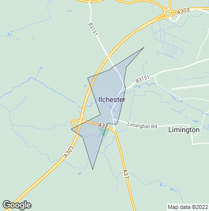 Map of property in Ilchester