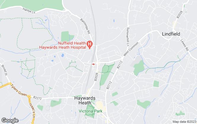 Map for Stuart & Partners, Haywards Heath