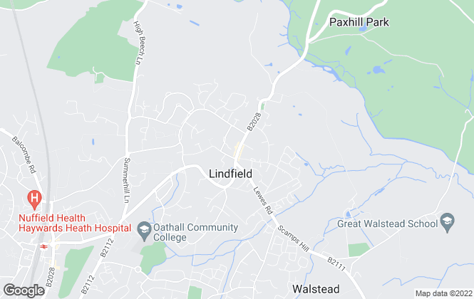 Map for Mansell McTaggart, Lindfield
