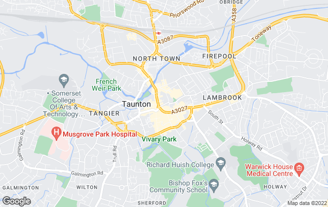 Map for Stags, Taunton