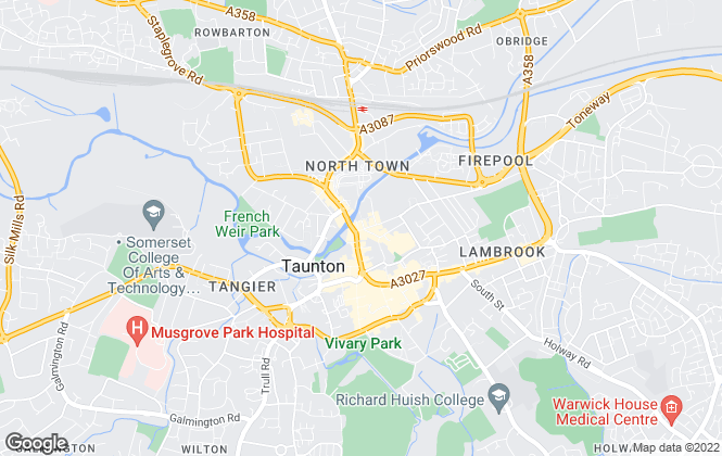 Map for Eden May, Taunton