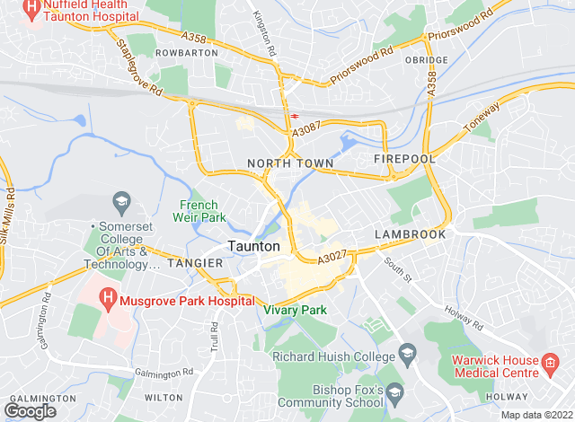 Map for Yule � Property Specialists , Taunton