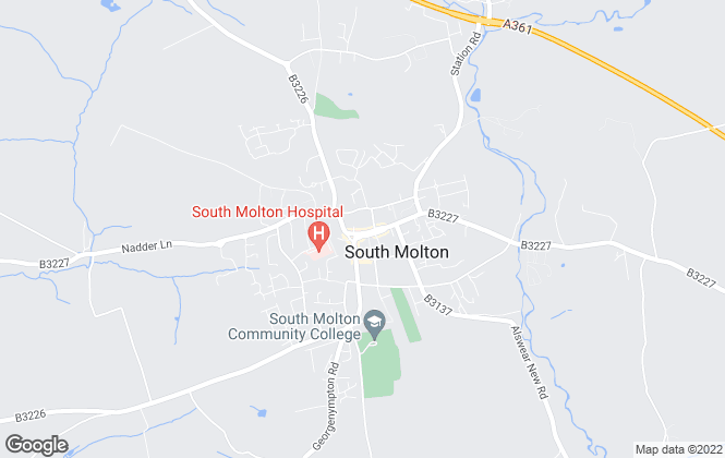 Map for Stags, South Molton (Lettings)
