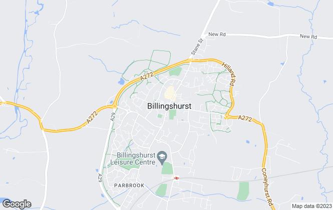 Map for Cubitt & West, Billingshurst
